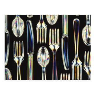 Knives, Forks and Spoons Postcard