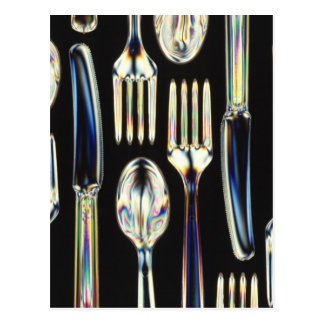 Knives, Forks and Spoons Post Card