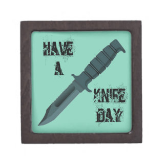 Knives Have a Knife Day Jewelry Box