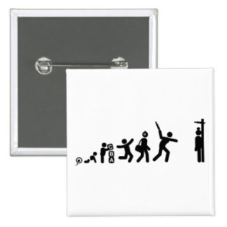 Knives Throwing Pinback Button
