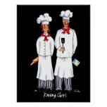 Kniving Chefs - poster