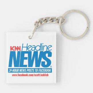 KNN The Koblish News Network Keychain