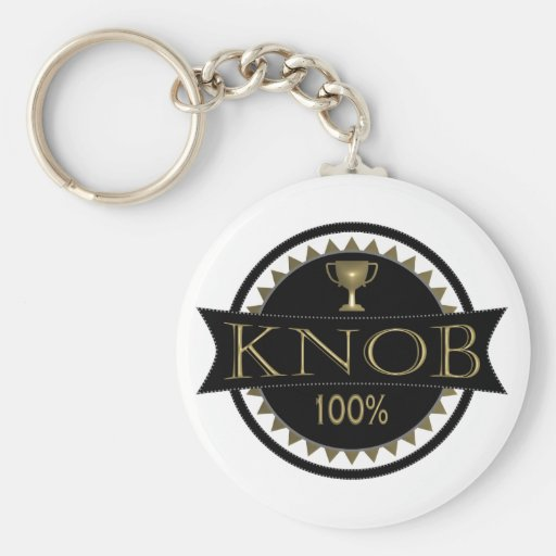 Knob Award Keyring Keychain