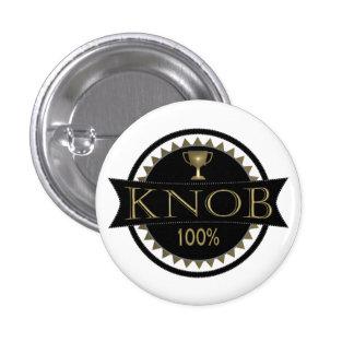 Knob Award Round Badge 1 Inch Round Button