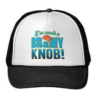 Knob Brainy Brain Mesh Hat