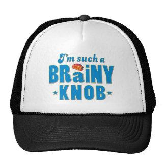 Knob Brainy Such A Mesh Hats