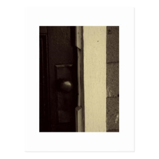 Knob in Sepia Postcard