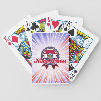 Knob Noster, MO Bicycle Poker Cards
