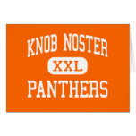 Knob Noster - Panthers - High - Knob Noster Card