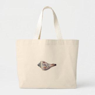Knobbed Whelk Shell Jumbo Tote Bag