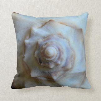 Knobbed Whelk Throw Pillow