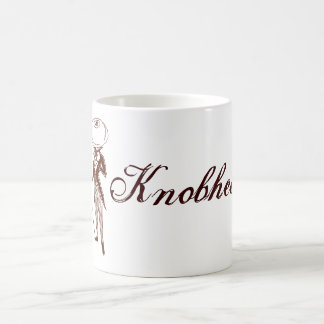 Knobhead Basic White Mug