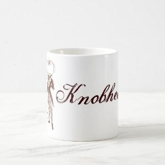 Knobhead Classic White Coffee Mug