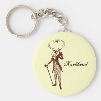 Knobhead Keychain