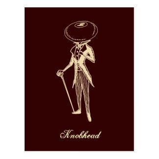 Knobhead Postcard