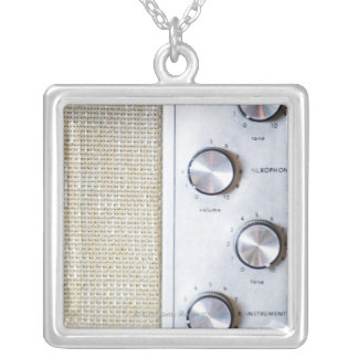 Knobs Silver Plated Necklace