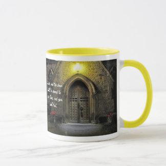 Knock and the Door Shall Be Opened (2) Mug