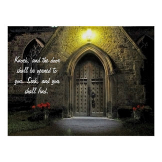 Knock and the Door Shall Be Opened (2) Print