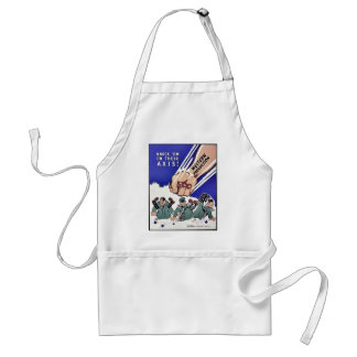 Knock 'Em On Their Axis, Western Production Aprons