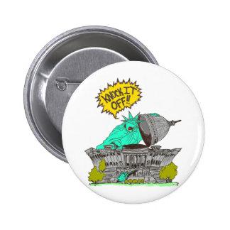 Knock It Off Washington Pinback Button