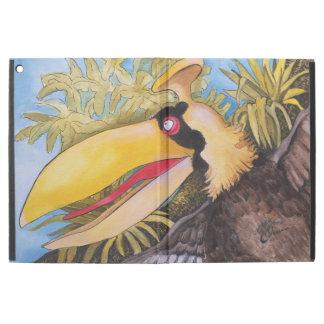 """Knock Knock Bird"" Art by Mike Quinn iPad Pro Case"
