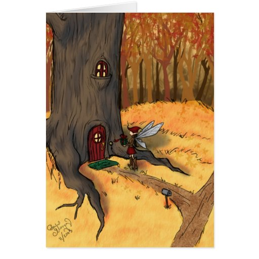 Knock Knock! Greeting Card