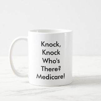 Knock, Knock Medicare Mug