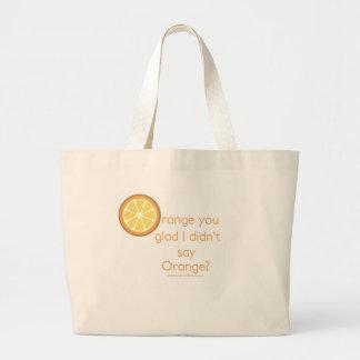 Knock Knock (orange) Bags