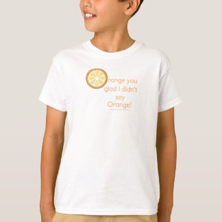 Knock Knock (orange) T-Shirt