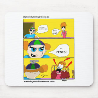 Knock Knock with ernie Mouse Pad