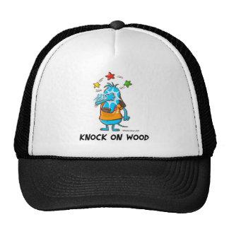 Knock on Wood Smaller Image Trucker Hat