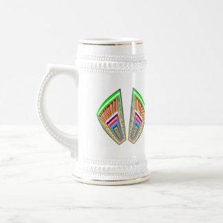 Knock open your heart - find the Treasures Beer Stein