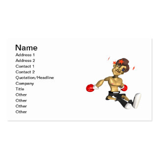 Knock Out 3 Business Card Templates