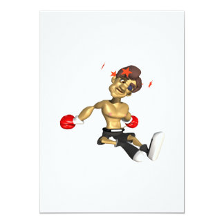 """Knock Out 3 5"""" X 7"""" Invitation Card"""