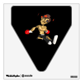 Knock Out 3 Wall Sticker