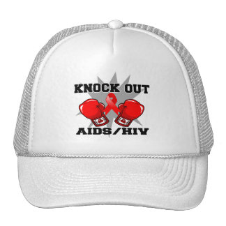 Knock Out AIDS HIV Trucker Hat