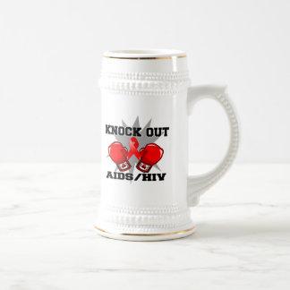 Knock Out AIDS HIV Mug