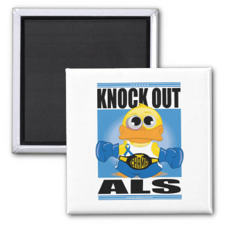 Knock Out ALS 2 Inch Square Magnet