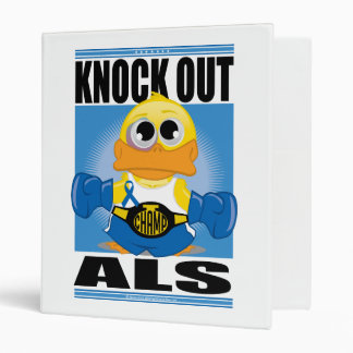 Knock Out ALS 3 Ring Binder