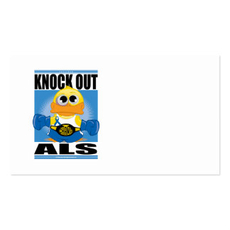 Knock Out ALS Business Card