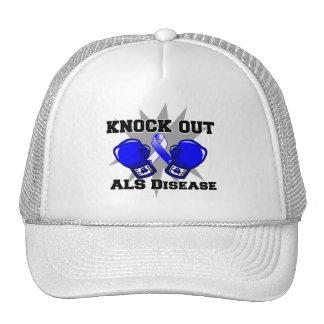 Knock Out ALS Disease Trucker Hat
