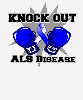 Knock Out ALS Disease T-Shirt