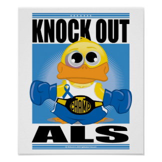 Knock Out ALS Posters