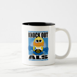Knock Out ALS Two-Tone Coffee Mug