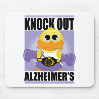 Knock Out Alzheimer's Disease Mouse Pad
