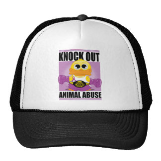 Knock OUT Animal Abuse Trucker Hat