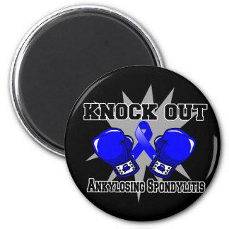 Knock Out Ankylosing Spondylitis 2 Inch Round Magnet