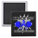 Knock Out Ankylosing Spondylitis 2 Inch Square Magnet