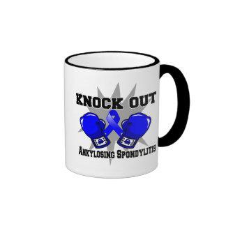 Knock Out Ankylosing Spondylitis Ringer Coffee Mug