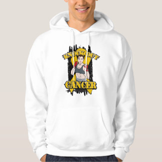 Knock Out Appendix Cancer Hooded Sweatshirts
